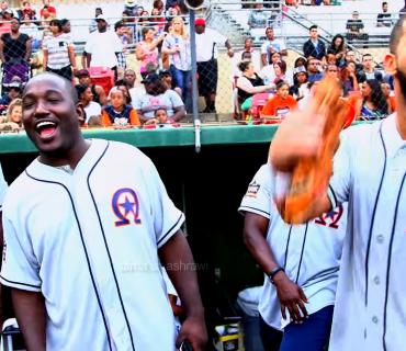 Drake's 2015 Houston Appreciation Weekend Softball Game