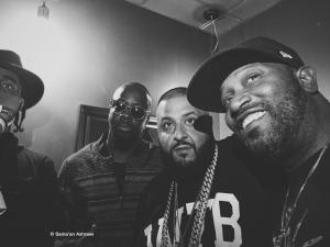 Wyclef Jean, DJ Khaled, and Bun B at the Mass Appeal 2016 SXSW showcase.